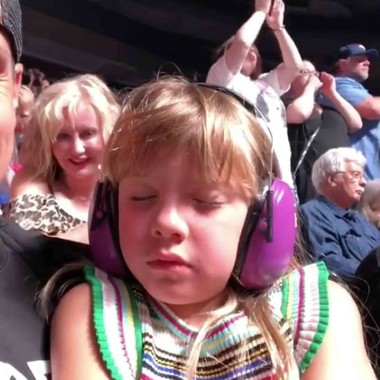 Pink's Daughter Falling Asleep at Her Concert