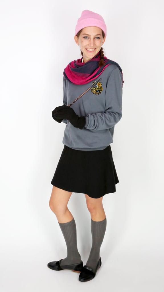 Anna as a Hufflepuff Student