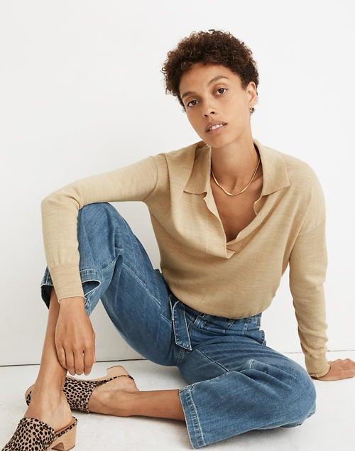 Madewell Polo Sweater