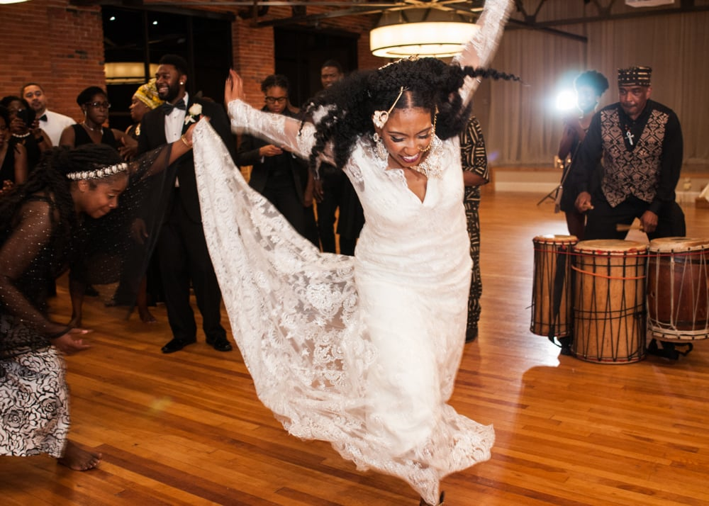 Modern West African Wedding POPSUGAR Love