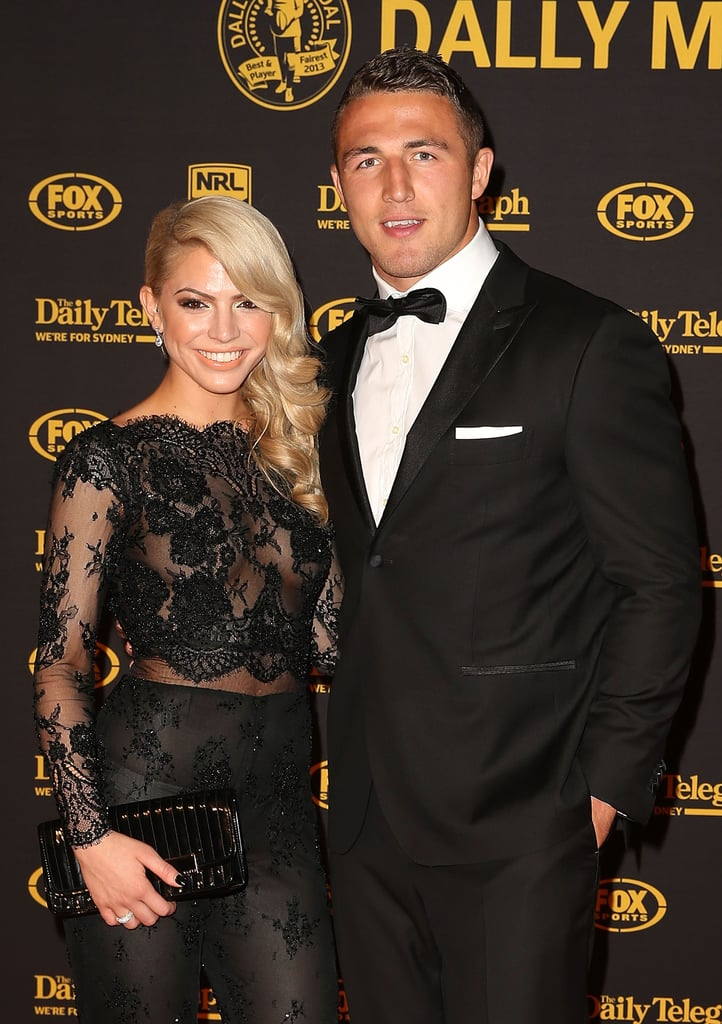 Joelle Hadjia and Sam Burgess