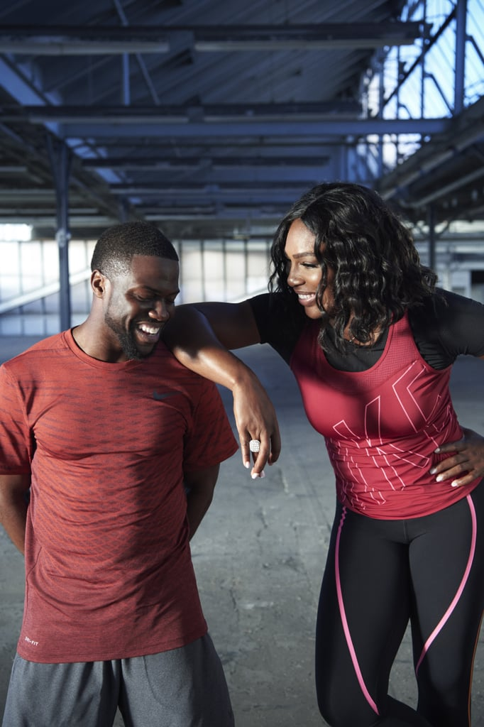 Watch as Kevin Hart Hilariously Overcomes the Odds to Work Out With Serena Williams