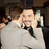 With Jack Huston