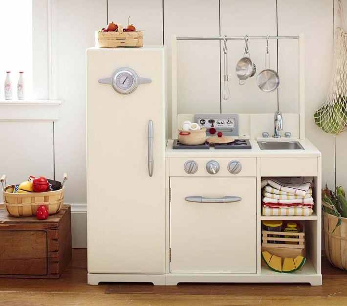 For 2-Year-Olds: Simply White All-in-1 Retro Kitchen | The ...