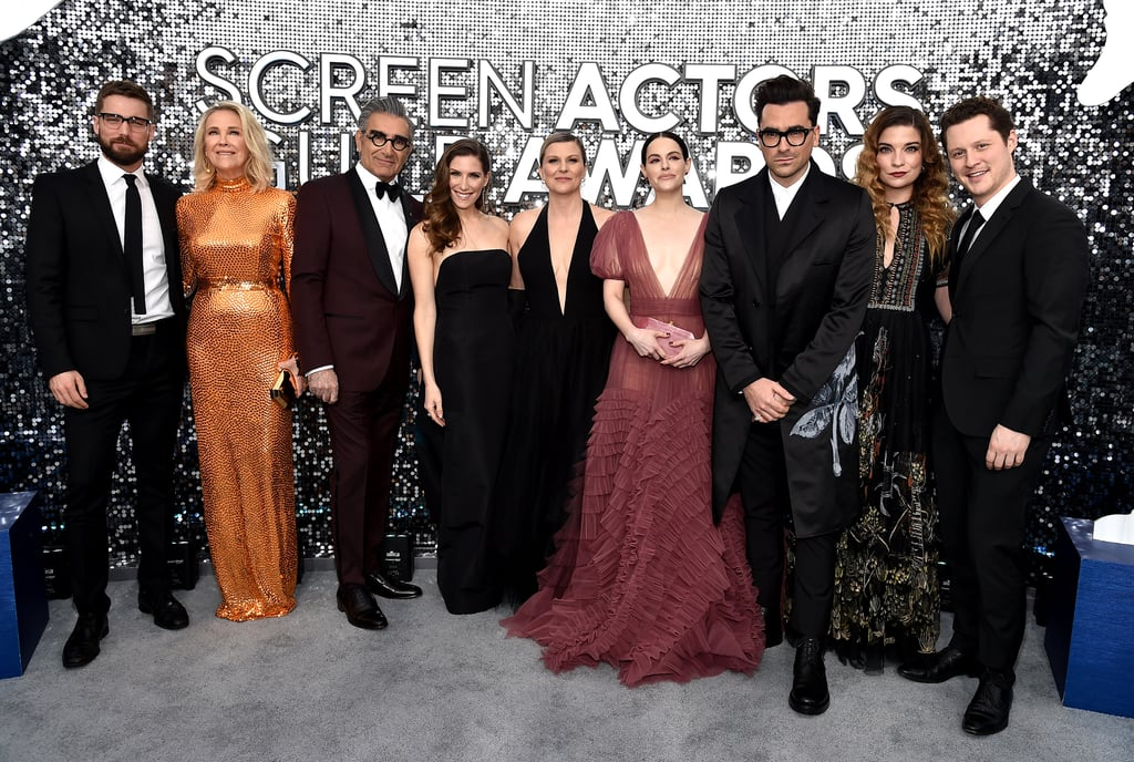 See Photos of the Schitt's Creek Cast at SAG Awards 2020