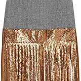 J.Crew Wool and Metallic Chainmail Skirt ($350)