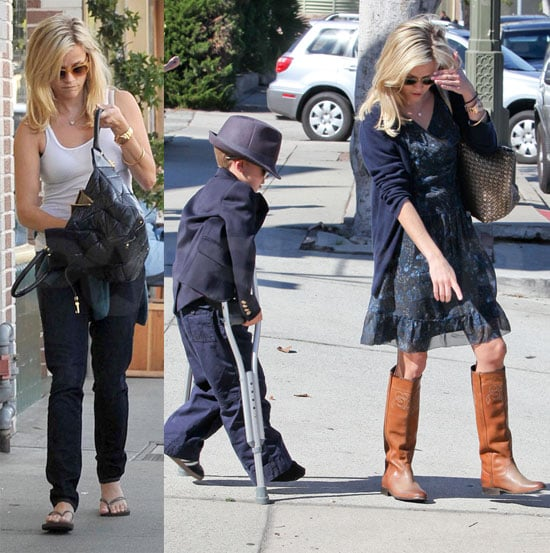 Pictures of Reese Witherspoon, Kids and Jim Toth