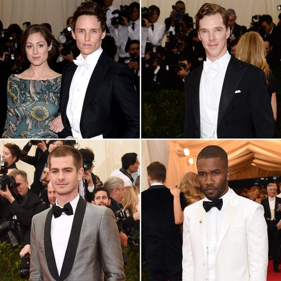 Hot Guys at the Met Gala 2014