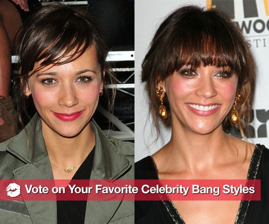 Pictures of Celebrities With Bangs 2010-11-18 07:00:00