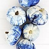Chic Indigo Pumpkins