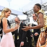 Laura Dern and Billy Porter at the 2020 Oscars