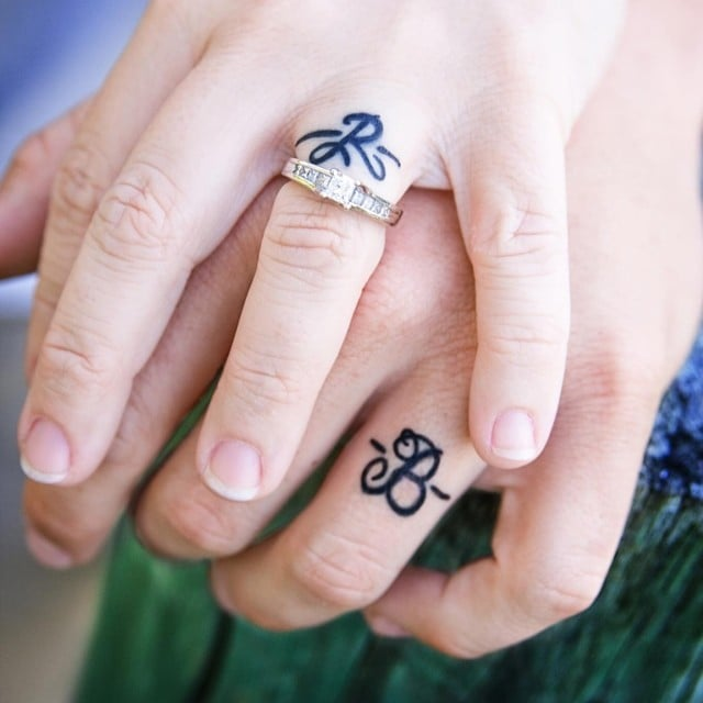 RealGirl Engagement Tattoos POPSUGAR Fashion