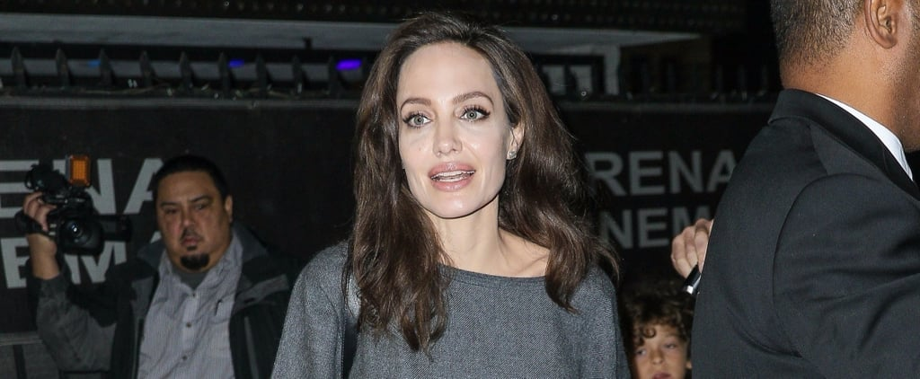 Angelina Jolie Styled Her Simple Outfit With Fall's Most Classic Type of Shoe