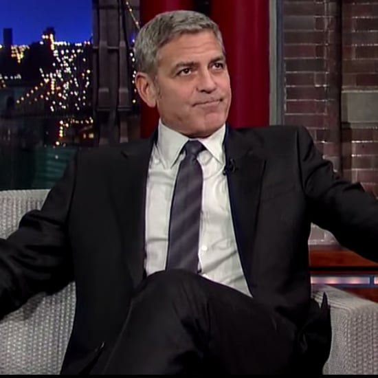 George Clooney Last Time on Late Show David Letterman