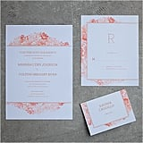 Petunia Watercolour Wedding Invitation