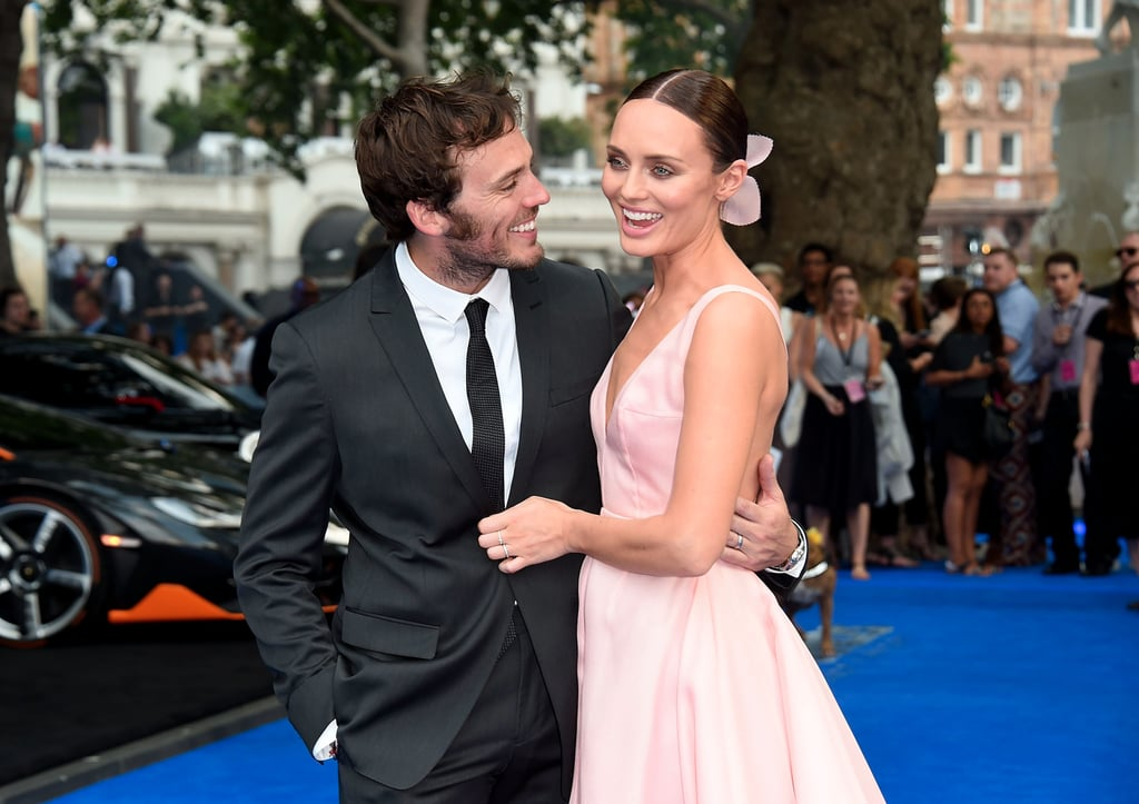 All Eyes Were on Laura Haddock at Her Premiere, Including Her Husband's