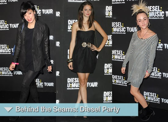 Photos from Diesel Party Including Lily Allen, Bonnie Wright, Kaya Scodelario, Amber Le Bon and Jaime Winstone