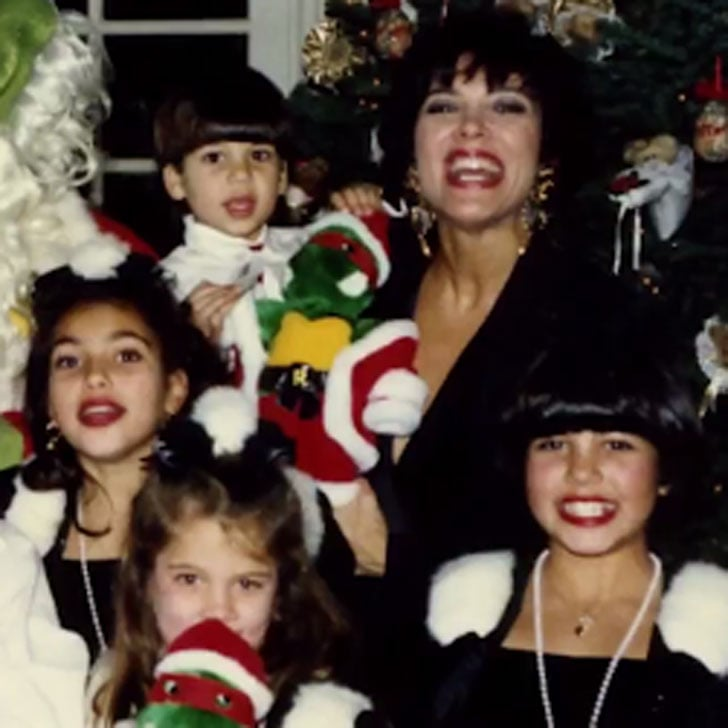 Old Kardashian Christmas Cards | POPSUGAR Celebrity