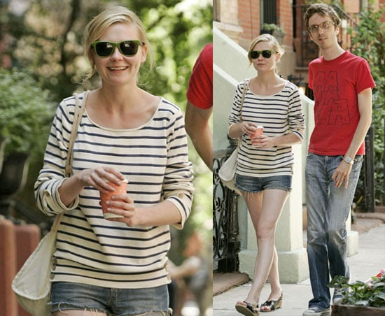 Photos of Kirsten Dunst Smiling in NYC