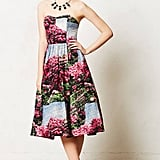 Anthropologie Red Floral Midi Dress ($398)