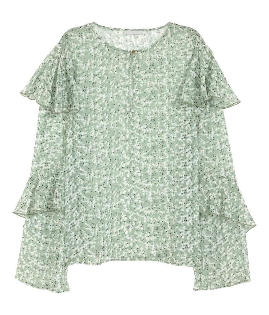 H&M Chiffon Blouse ($35)