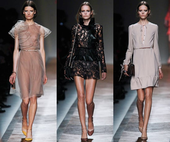 Photos of Valentino Spring 2011 at Paris Fashion Week