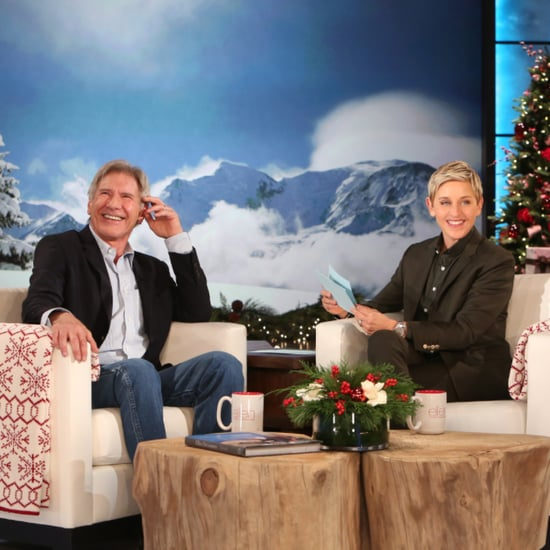 Harrison Ford on Ellen December 2015