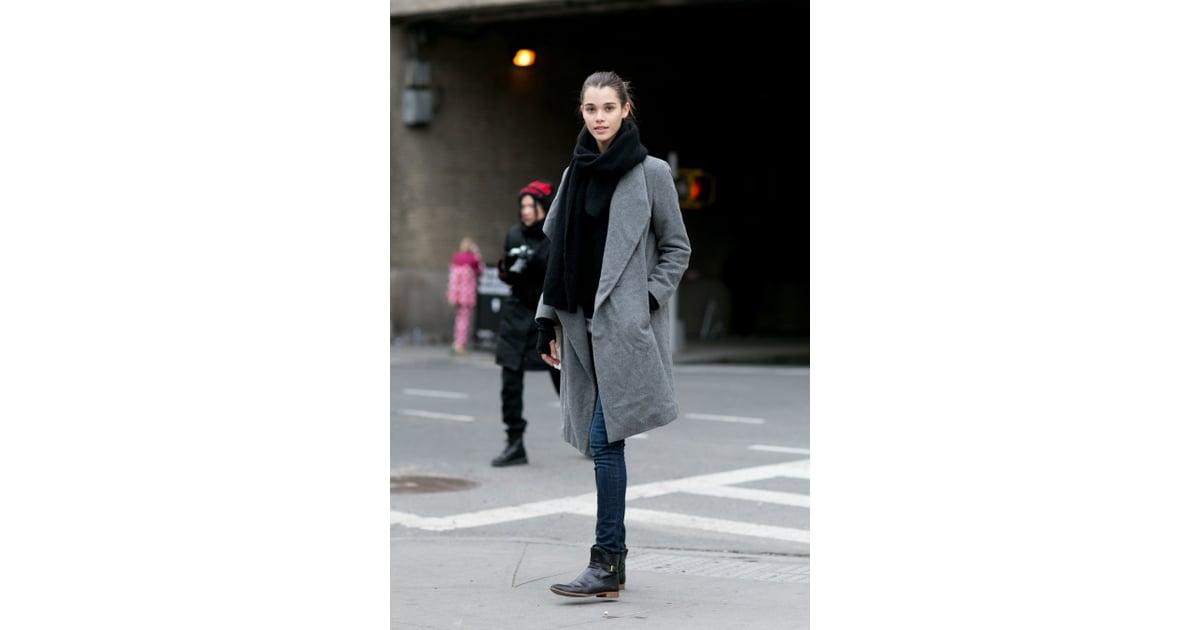 New York Fashion Week Model Street Style At Fashion Week Fall 2016 Popsugar Fashion Photo 290