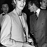 David Bowie partied it up in 1978.