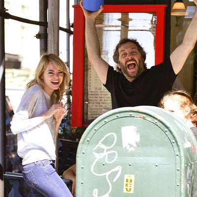 Emma Stone and Judd Apatow in NYC | Photos