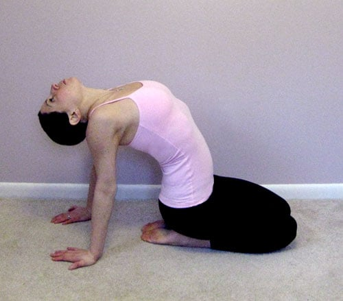Stretch It: Seated Heart Opener