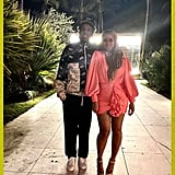 They snapped a cute photo during a Miami trip in February 2020.
