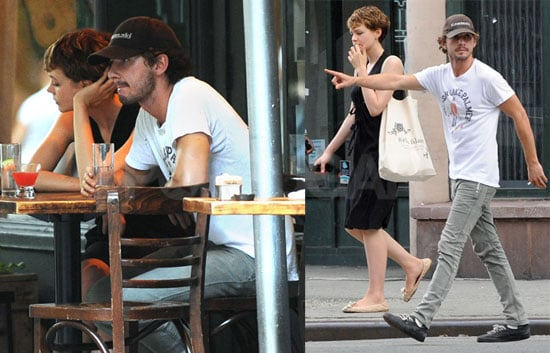Photos of Shia Labeouf in NYC