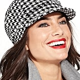 Charter Club Chenille Houndstooth Newsboy Hat ($40)