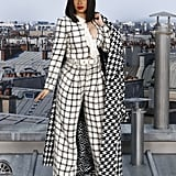 Cardi B at the Chanel Paris Fashion Week Show