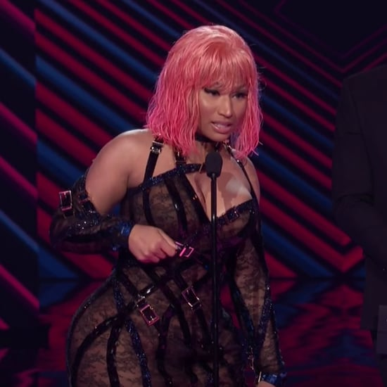 Nicki Minaj Flirting With Michael B. Jordan at the 2018 PCAs
