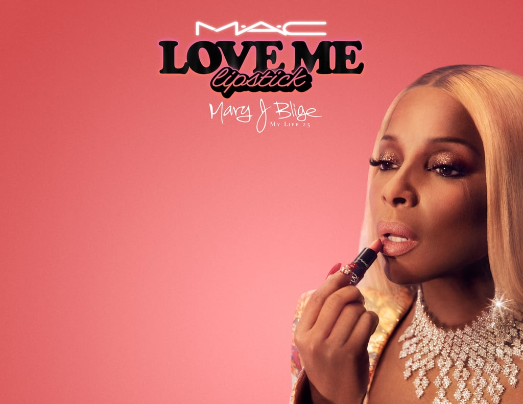 Mary J. Blige's MAC Love Me Lipstick