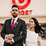 Wedding Photo Shoot at Target