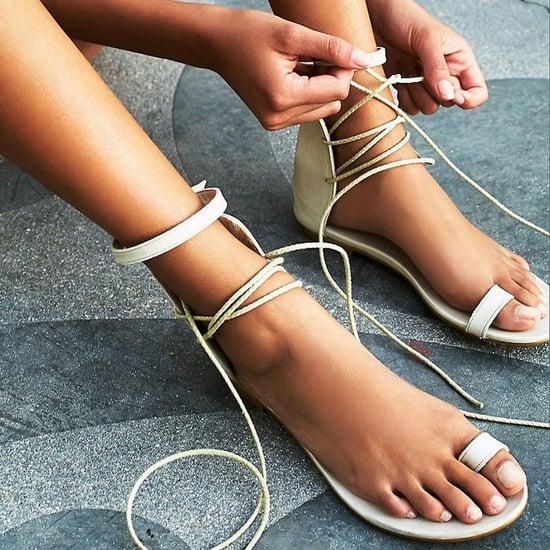 Lace-Up Sandals Under $100