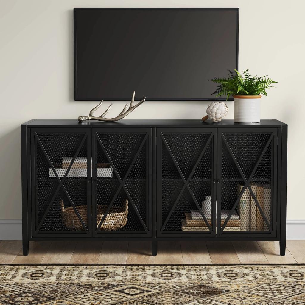 Threshold Fairmont Metal TV Stand With Storage