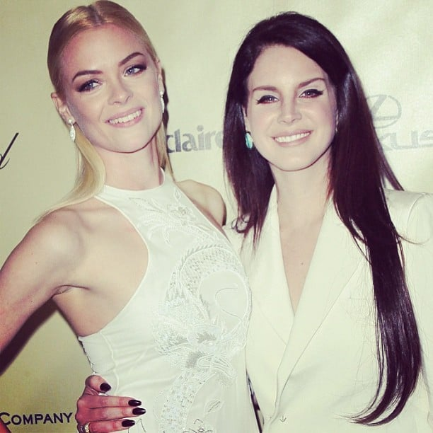 Jaime King And Lana Del Rey Hit The Weinstein Company Afterparty Cute Candids Celebrities Shared This Week Popsugar Celebrity Photo 41