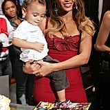 Beyoncé and Her Nephew Julez Smith Pictures