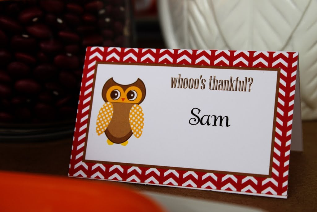 Kids' Place Cards