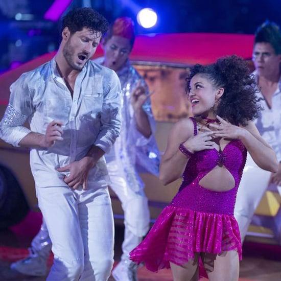 Laurie Hernandez Dances to Michael Jackson on DWTS