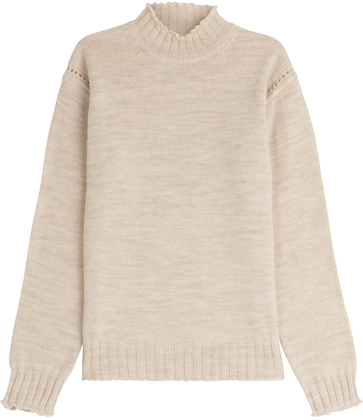 Alexa Chung For AG Scotland Wool Turtleneck Pullover ($405)