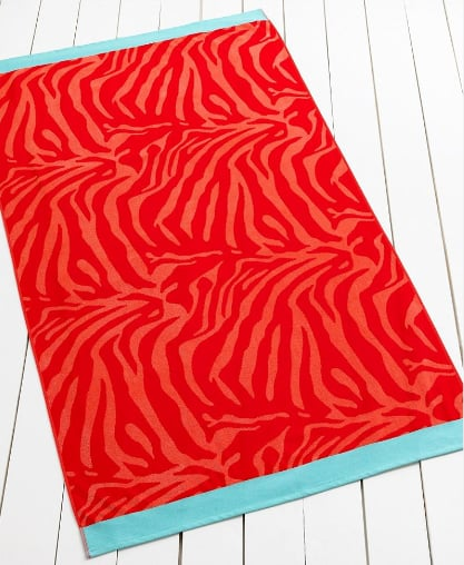 Martha Stewart Safari Beach Towel ($40)