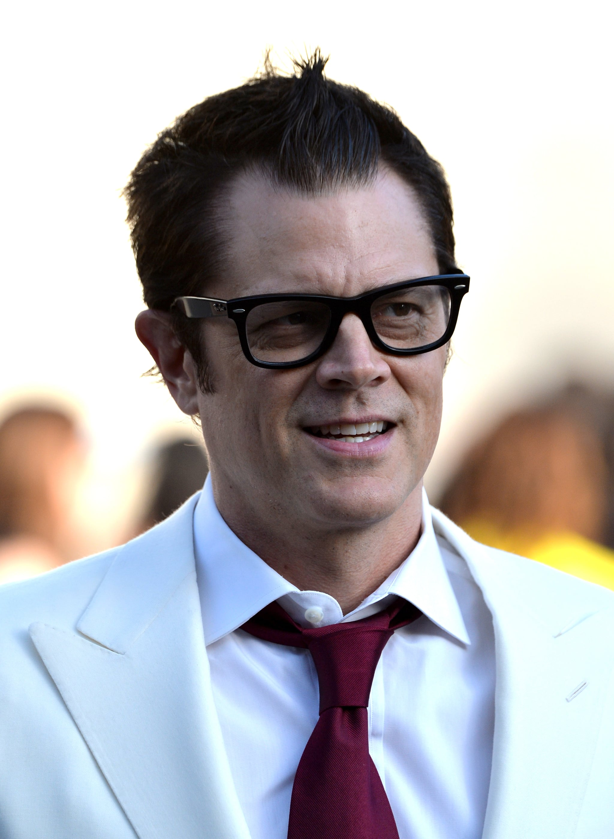 Johnny Knoxville popped up at the event.