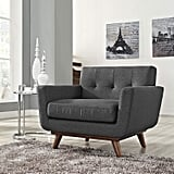 Modway Engage Mid-Century Modern Upholstered Accent Chair