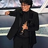 Bong Joon-ho at the 2020 Oscars