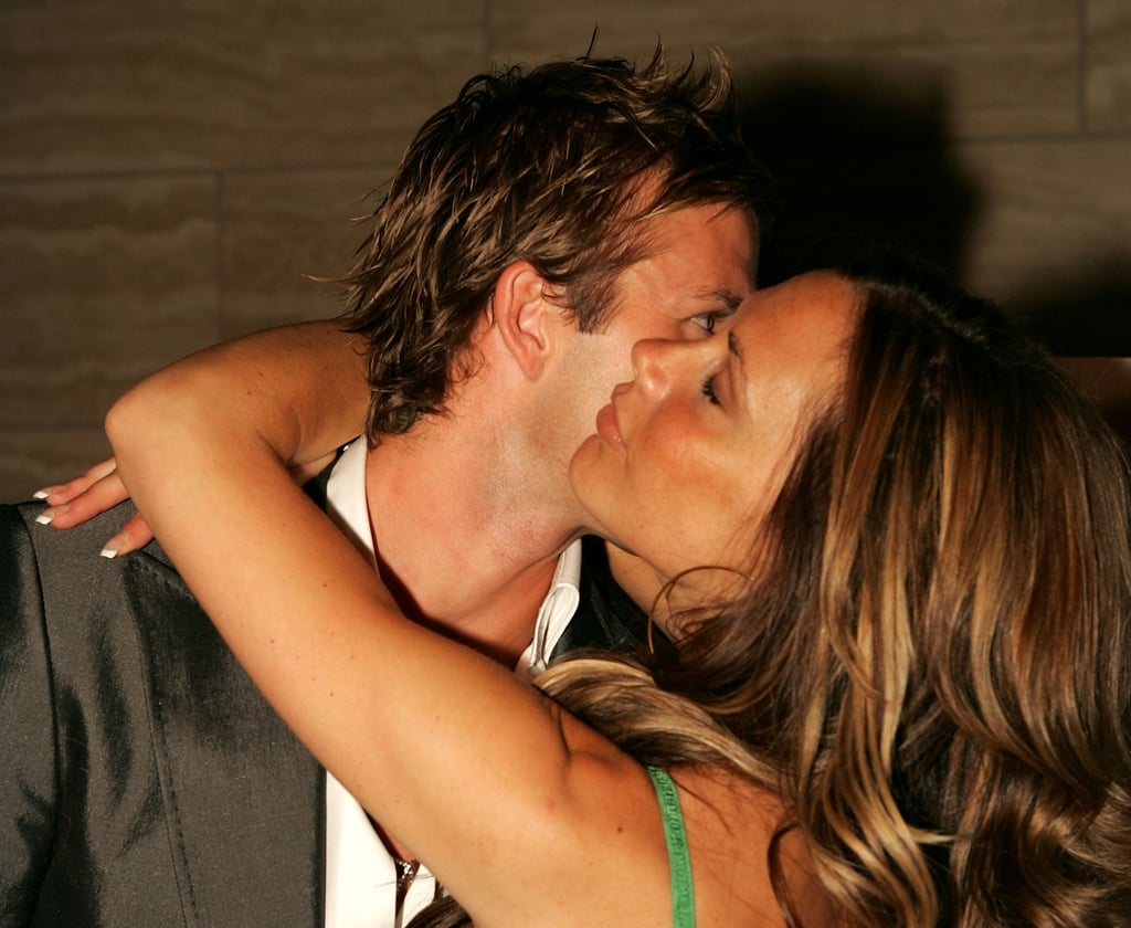 David and Victoria Beckham were all over each other at an LA party back in June 2005.